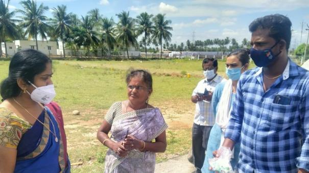 corona-vaccine-hoarding-at-home-near-vedasandur-maternity-assistant-dismissed