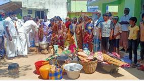 immigrant-civilians-in-the-panchayat-office-near-pudukkottai-continued-struggle