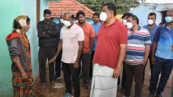 minister-visited-the-hosur-hill-villages-house-to-house-and-inspected-the-corona-vaccine