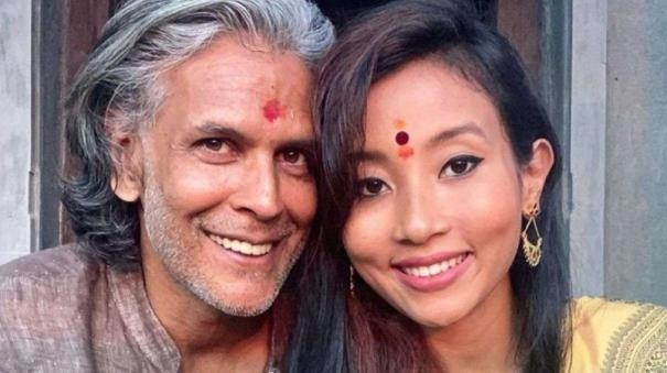 milind-soman-wife-ankita-konwar-says-northeast-people-can-become-indians-only-after-winning-a-medal