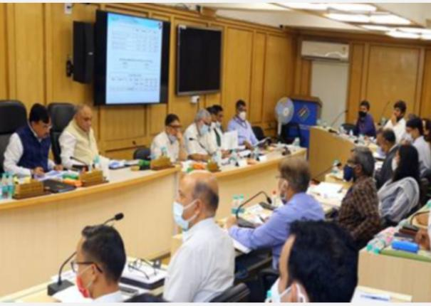 eci-holds-a-review-meeting-with-ceos-of-five-states