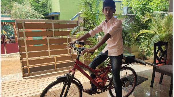 sivagangai-student-who-designed-the-solar-bicycle-for-use-by-the-elderly