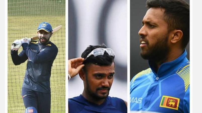 இலங்கை வீரர்கள் 3 பேர் சர்வதேச கிரிக்கெட்டில் பங்கேற்க ஓர் ஆண்டு தடை: தலா ரூ.37 லட்சம் அபராதம்   Durham bubble breach: Gunathilaka, Mendis and Dickwella suspended from international cricket for one year