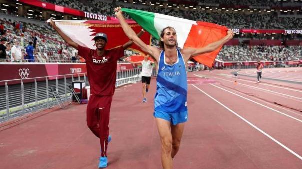 qatar-s-barshim-italy-s-tamberi-share-olympic-high-jump-gold