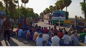 people-roadblocks-asking-for-drinking-water