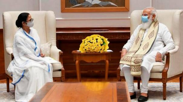 pm-speaks-to-west-bengal-cm-on-flood-situation