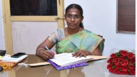 first-female-rto-in-charge-of-madurai-transport