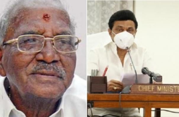 mgr-jayalalithaa-s-beloved-madhusudhanan-chief-minister-stalin-s-condolences