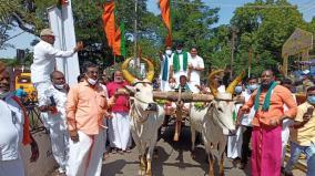 mekedatu-issue-tn-bjp-protest-against-karnataka-government