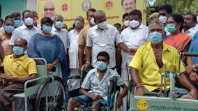 minister-ma-subramanian-has-ordered-to-rush-the-woman-to-the-government-hospital-for-surgery