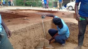 discovery-of-sangam-period-construction-at-porpanaikottai-excavation-in-pudukkottai-district