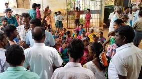 public-protest-against-panchayat-leader