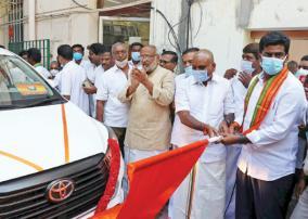 car-gift-for-bjp-district-secretaries