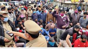 rent-issue-in-udhaya-market-more-than-1000-traders-arrested-for-protesting-against-sealing