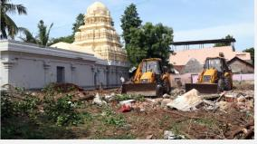 in-kumbakonam-16-houses-occupying-the-temple-site-were-removed