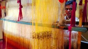 minister-r-gandhi-on-weavers