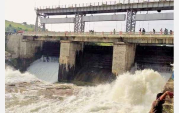water-released-from-krishnapuram-dam