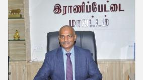 bhaskara-pandian-takes-charge-as-the-collector-of-ranipet