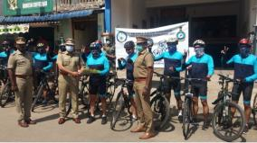 air-force-soldiers-who-came-for-the-bicycle-rally-in-chidambaram