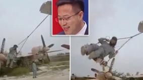 chinese-senior-official-mocks-washington-shares-video-of-taliban-using-us-military-plane-as-toy