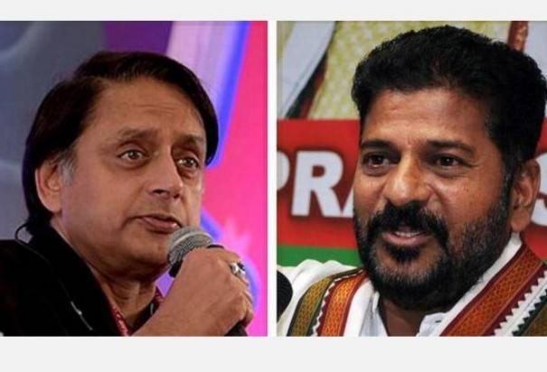 shashi-tharoor-revanth-reddy-row-reflects-simmering-tensions-within-congress