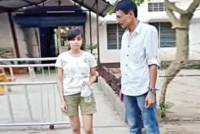 girl-forced-to-cover-her-legs-for-wearing-shorts-for-exam-in-assam