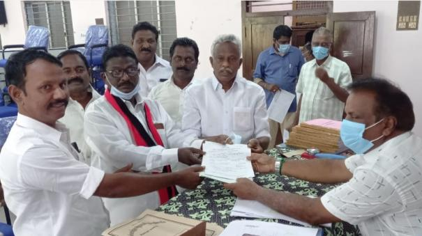councilor-by-election-near-thiruvarur-dmk-communist-separate-nomination