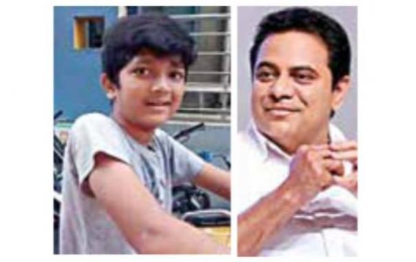 telangana-minister-ktr-on-viral-video-of-12-year-old-newspaper-boy