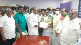 puducherry-treasurer-elected-as-bjp-mp-without-contest