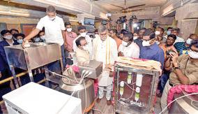 punnainallur-mariyamman-temple-prasadham-machine