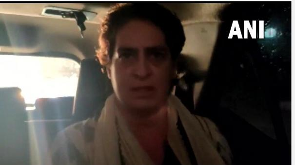 priyanka-gandhi-indira-moment-say-party-colleagues-after-video-of-her-being-detained-by-u-p-police-surfaces