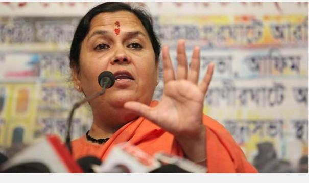 priyanka-cong-leaders-don-t-have-right-to-speak-about-democracy-farmers-uma-bharti