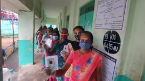 election-pollachi-divansaputhur-panchayat-recorded-50-3-votes-at-12-noon