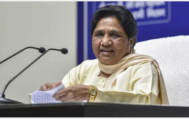 why-is-cong-silent-over-killing-of-dalit-man-in-rajasthan-mayawati