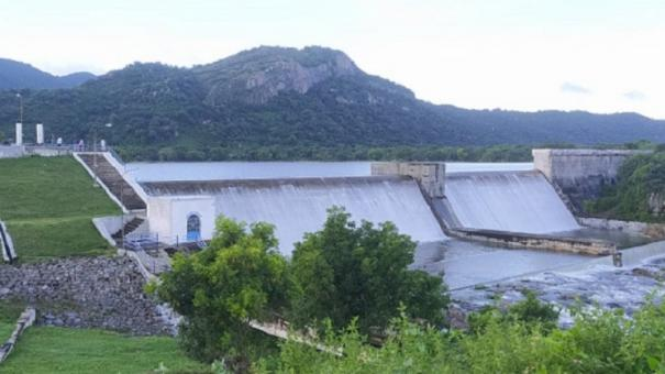 heavy-rain-in-tirupati-andiyapanur-dam-flooded-for-the-7th-time-warning-to-coastal-people
