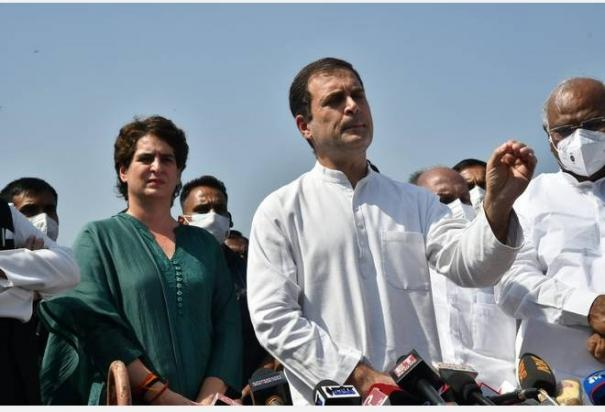 congress-delegation-meets-president-demands-removal-of-mos-ajay-mishra