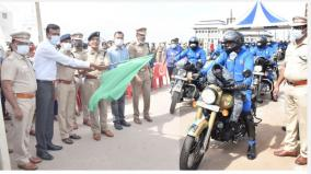 kanyakumari-to-gujarat-the-two-wheeler-national-unity-march-of-the-police-begins
