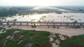 vellore-heavy-rains-palaru-flooded