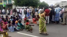 mystery-of-female-death-road-blockade-in-karur-by-relatives-demanding-action