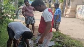 puducherry-youth-clean-the-drainage