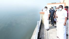 puzhal-and-sembarambakkam-lake-cm-visit