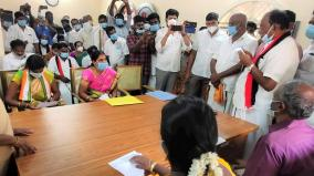 panchayat-leaders-take-oath-in-vellore-district