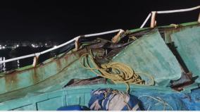 foreign-ship-collides-with-a-yacht-in-the-kumari-deep-sea-two-fishermen-injured-15-fishermen-rescued