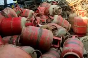 cooking-gas-cylinders-at-scrapyard-fuel-congress-fire-at-centre-s-scheme