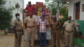 rs-3-lakh-worth-of-firecrackers-confiscated-from-a-house-in-sankarapuram-without-permission